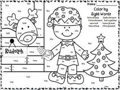 Free Printable Christmas Math Worksheets: Addition and