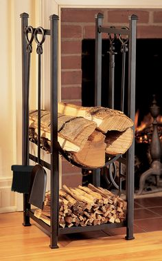 1000 images about fireplace on Pinterest  Firewood rack