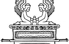 Ark Of The Covenant Coloring Pages