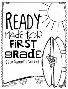 Get Ready for 1st Grade! PRINT & DIGITAL {Math, ELA