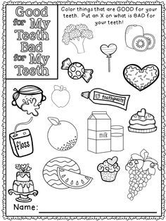 1000+ images about Preschool Dental/Nutrition Unit on