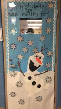 Olaf from 'Frozen' decoration for classroom and other ...