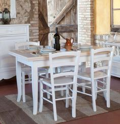 1000 images about Tavoli con sedie on Pinterest  Shabby