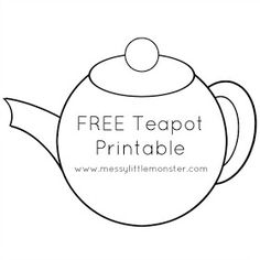 You're Tea-riffic teapot craft and gift idea for kids