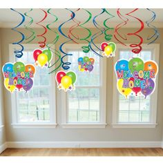 The House Decorations For The Babies' First Birthday Party House