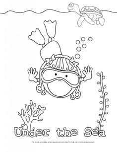 Crab walk relay- activity for under the sea week, crab
