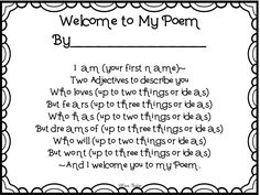 Similes and metaphors, Simile and Poem on Pinterest