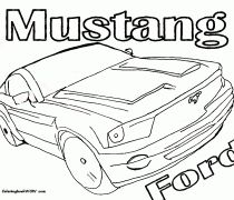 Car_23_ford_mustang_2009_coloring-pages-book-for-kids-boys