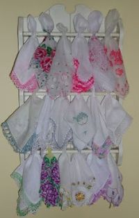 1000+ images about Display Vintage Hankies on Pinterest ...
