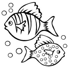 Removing Fish Bubble Coloring Pages For Kids #cFq