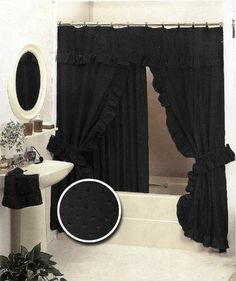 Printed Shower Curtain Shower Curtains Curtains And Metals