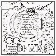 Coloring Pages for Kids by Mr. Adron: Proverbs 18:10