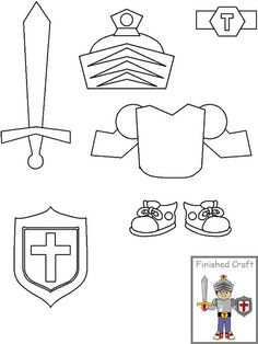 Armor of god, Armors and Templates on Pinterest