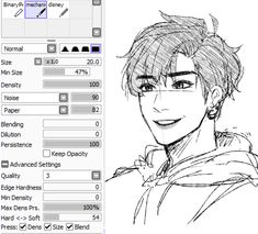 Paint Tool SAI. Crayon Settings by ayashige-doodles on