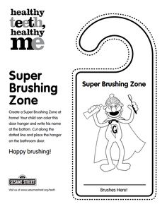 Frugal Mom and Wife: FREE Printable Brushing Teeth