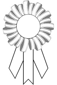 Printable award ribbons, free printable award ribbon