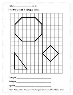 1000+ images about Geometry- Area, Perimeter, Surface Area