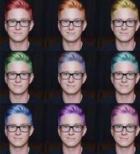 1000+ ideas about Tyler Oakley Hair on Pinterest   Tyler ...