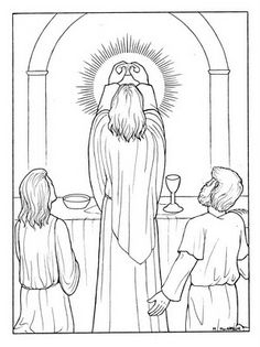 Eucharist, Printable coloring pages and Coloring pages on