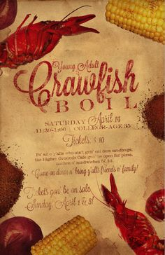 1000 Images About Crawfish Boil Invites On Pinterest