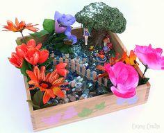 Shoebox Garden For Green Fingered Children On Rainy Days! Use