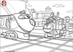 1000+ images about Chuggington coloring pages on Pinterest