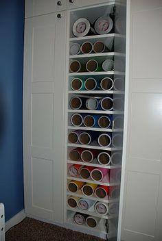 Craft Vinyl Storage on Pinterest  Vinyls Vinyl Storage and Wine Racks