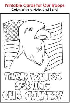 Thank You For Your Service Soldiers Coloring Pages