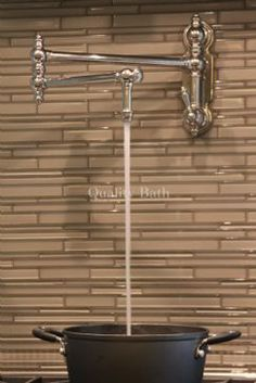 waterstone annapolis kitchen faucet portable island with drop leaf 1000+ images about pot filler faucets on pinterest | ...
