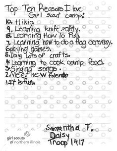 Fill-in-the-Blanks Camp Letters (Printable Activity for