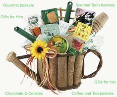 Gardening Gift Basket Ideas gardening_gift_giveaway Classic Gardening Gift Basket Retired Gifts The Ojays And