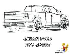 GMC Sierra Denali Truck Coloring Sheet. You Can Print Out
