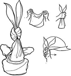 how to make a bunny puppet from a handkerchief sounds