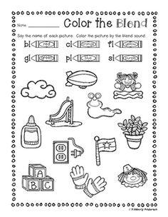 Kindergarten Smarts: bl, cl, fl, gl, pl, sl 'L' Word Blend