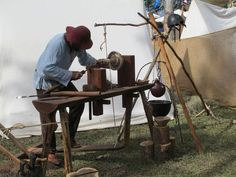 bungee cord chair diy covers for sale amazon 1000+ images about pole lathe on pinterest | wood lathe, medieval and hand tools