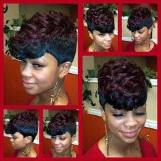 Quickweave Short 27pc Black Women Short Cuts Pinterest Short