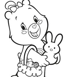 1000+ images about Coloriage bisounours on Pinterest