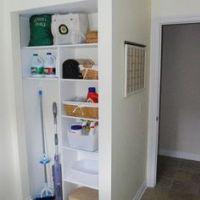 1000+ images about Broom closet on Pinterest   Closet ...