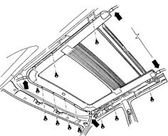 Cadillac Sunroof Diagram, Cadillac, Free Engine Image For