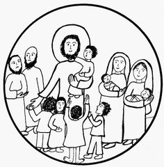 1000+ images about Jésus bénit les enfants on Pinterest