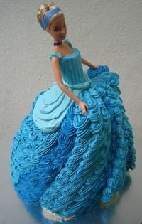 1000+ images about Cakes - Doll on Pinterest | Barbie Cake ...