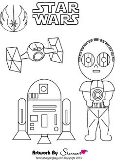 R2D2 reference ( and instructions for drawing