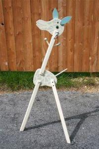 Vintage IRMI Giraffe Coat Rack / Clothes Rack .Large and ...