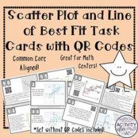 Scatter Plot/Line of Best Fit/Trend Line Review Worksheet ...