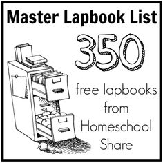 Free Editable Lapbook Interactive Notebook Templates When