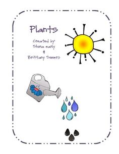 Worksheets, Plant parts and Plants on Pinterest
