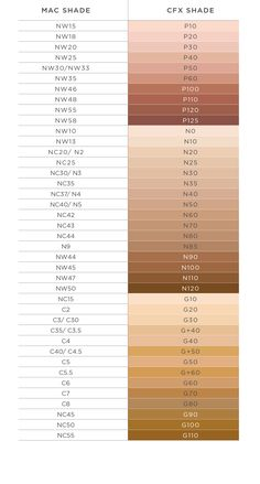 COVER  FX BB GEL Shade conversion chart PDF httpwwwsephoracomcontentimagespdfCoverFX