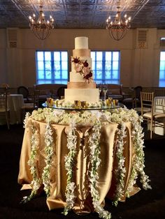 Cake table dripping