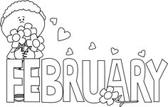 February month, Welcome february and Valentines on Pinterest