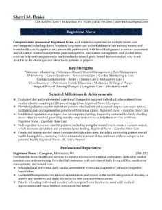 1000 Images About RN Resumes On Pinterest Nursing